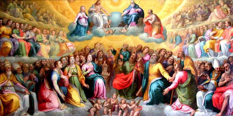 Como es que los Santos en el Cielo nos escuchan a nosotros | Servicio  Catolico Hispano