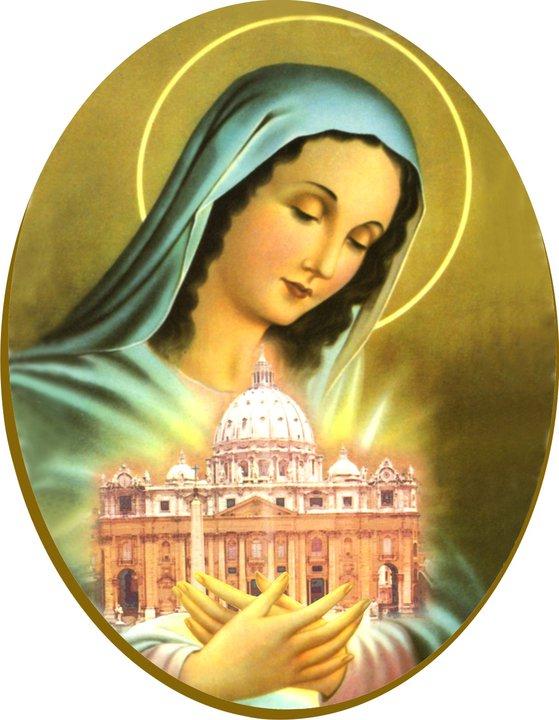 Resultado de imagen de María y la Iglesia