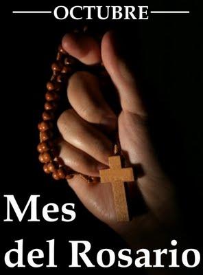 Resultado de imagen para octubre mes del rosario y de las misiones